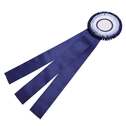 SALUTUYA Medalla de Cinta de Insignia Ligera Exquisita y Duradera, para competición de fútbol, para Juego(Blue)