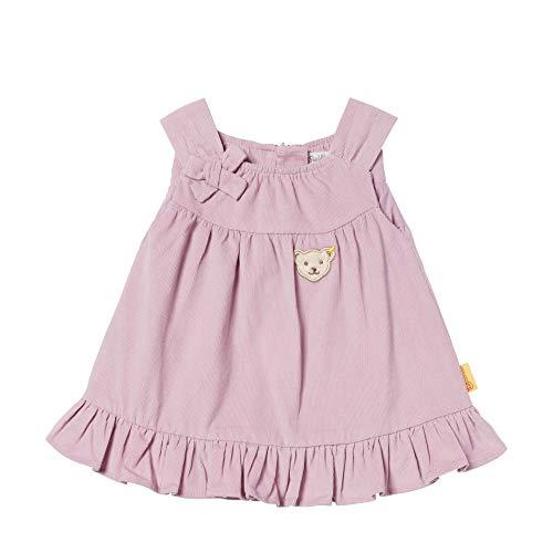 Steiff Baby - Mädchen Kleid , Violett (LAVENDER MIST 7020) , 80 (Herstellergröße:80)