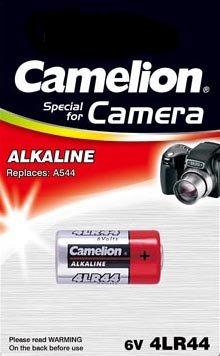6 Stück Camelion Alkaline Foto Batterie 4LR44 6V