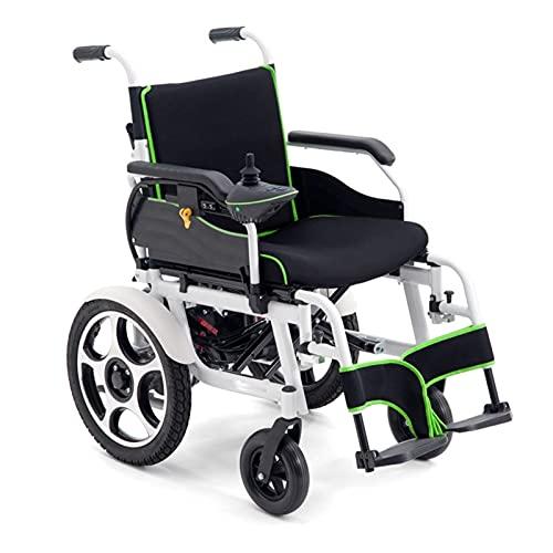 Elektrorollstuhl, Faltbarer Rollstuhl Luxus-elektrischer Rollstuhl Faltbar Für Kraftfahrt, Rahmenverstärkungsdesign Für Reisen In Verschiedenen Anlässen, Einstellbaren Rollstuhlgeschwindigkeit