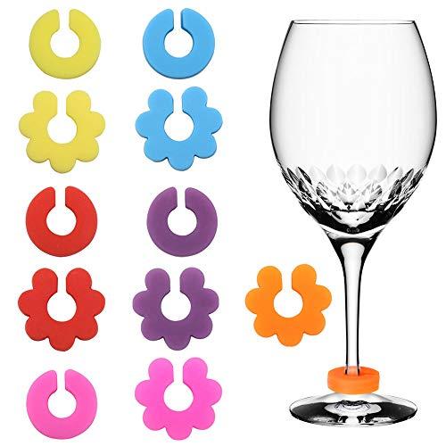 SelfTek SelfTek 12 Stück Weinglas Marker Bild