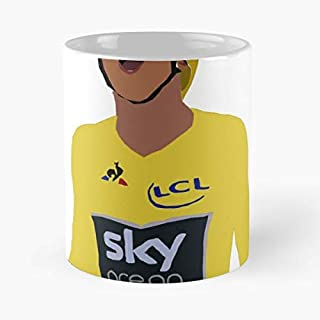 Geraint Thomas Yellow Jersey V2 Classic Mug Coffee Tea - And Cup Gift 11 Oz Best Mugs For Choose