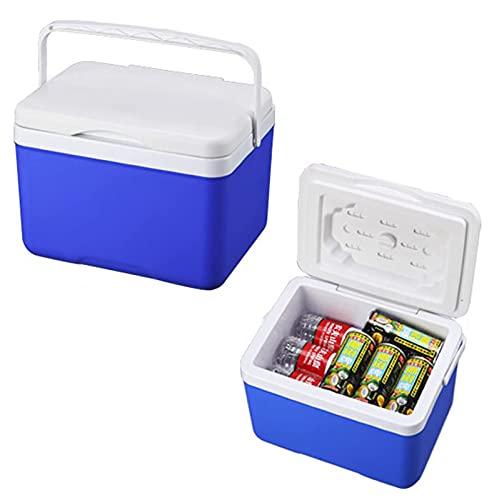 JY&WIN Caja enfriadora al Aire Libre de 10L, incubadora portátil, Caja enfriadora de refrigeración para Picnic al Aire Libre, Viajes, Playa, Cofre de Hielo, Caja de frescura