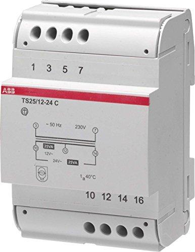 ABB TS40/12-24 C Trafo 40 VA 12-24 V, weiß