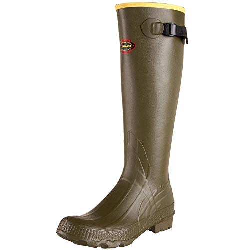 "LaCrosse Men's 150040 Grange 18"" Waterproof Hunting Boot, OD Green-10 M"