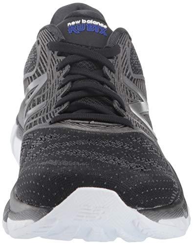 New Balance Rubix, Chaussures de Course Homme, Noir Black/Grey, 44 EU