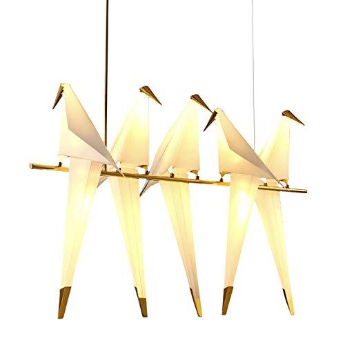 Lampade voor Terra persoonlijkheid eenvoudige kunst woonkamer slaapkamer Studio Mille groen van papier Moda Creative bedlampje voor vogels