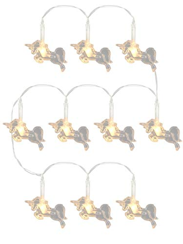 Puckator LED27unicorno-10Lichterkette, Weiß