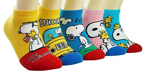 DAsom Erdnüsse Frauen Socken Snoopy's
