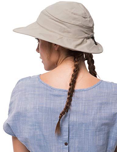 Jack Wolfskin Damen Supplex Atacama Chapeau Strickmütze, (Light Sand), (Herstellergröße: One Size)