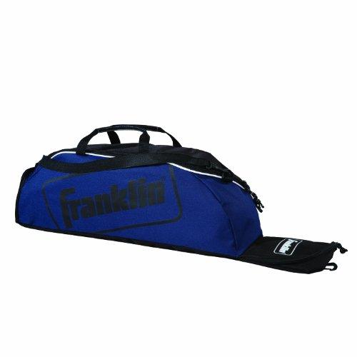 Franklin Sports Camiseta juvenil, softball, bolsa de equipamento de beisebol, comporta taco, capacete, chuteiras e mais