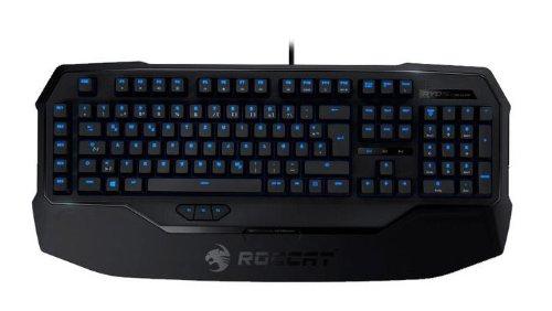 ROCCAT RYOS MK Glow USB-Gaming Tastatur, NO Layout - Tastenbeleuchtung, LED-Beleuchtung, Schwarz