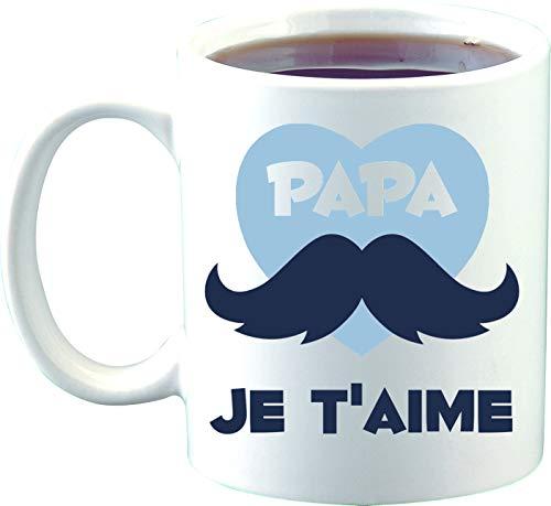 Sublimagecreations mug Papa Je t'aime, spécial père