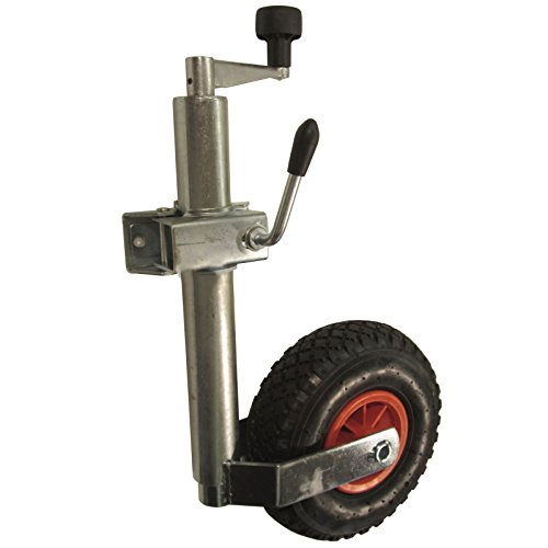 AB Tools Neumático de Servicio Pesado Rueda Jockey y Abrazadera (48mm) TR005