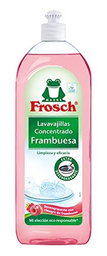 Frosch Lavavajillas a Mano Concentrado, Frambuesa, Negro, Estandar, 750 Mililitros