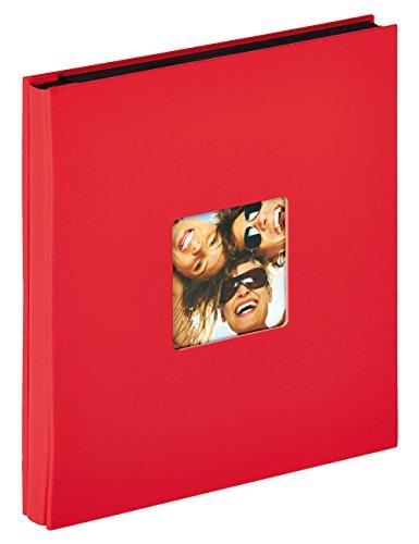 Walther Design EA-110-R Album ad Inserimento Fun, Carta, Rosso, 400 Foto 10 x 15 cm