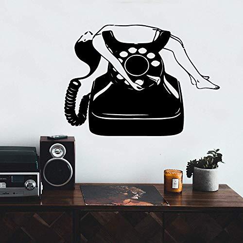 Quszpm Phone Wall Sticker Vinyl Decoration Living Room Bedroom Decoration Wall Sticker Sticker Mural 43cm X 60cm