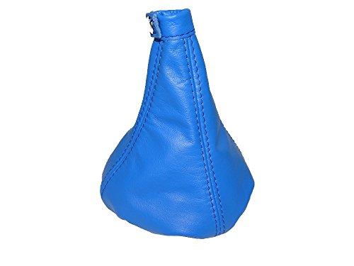günstig Blauer Ärmel mit geradem Schnitt aus echtem Leder. Vergleich im Deutschland
