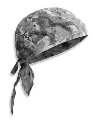 PURECITY© Bandana militaire préformé US Army - Serrage ajustable - 100% Coton - Airsoft - Paintball - Moto - Biker - Outdoor (AT Digital Camouflage)