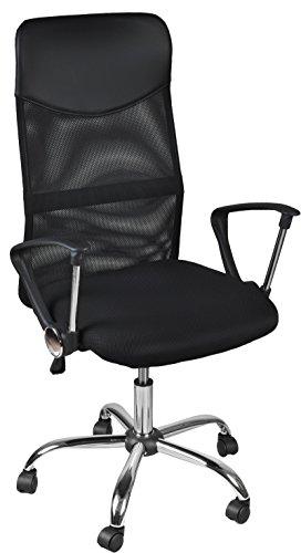 MALATEC Bürostuhl Drehstuhl Chefsessel Schreibtischstuhl Stuhl Mesh Netzdesign 2727