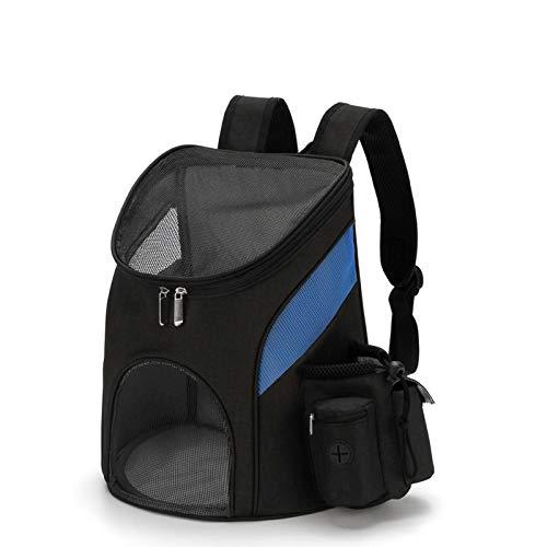 Dracol Mochila de viaje para mascotas, mochila para perros, bolsa de transporte para mascotas, para viajes, senderismo, uso al aire libre, homologada, 32 x 30 x 25 cm