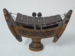 Thai Traditional Musical Instruments Teakwood Teak Wood Wooden Xylophone 8 Bar Notes By Lanna Spirit House