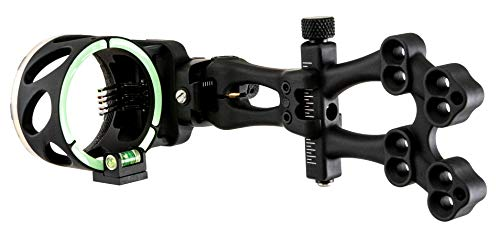 TRUGLO Veros 5-Pin Archery Bow Sight for Compound Bows with Ultra-Bright PRO-Brite Pin Technology, Black