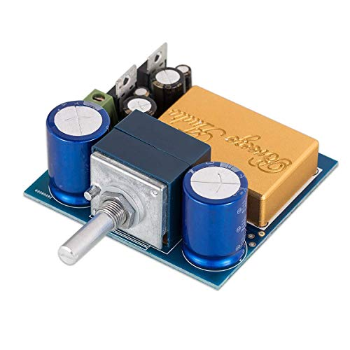 Nobsound Hi-Fi Preamplifier, Audio Stereo Preamp Board, Full DC, ALPS Control, with Shielding, for Amplifier/Active Speaker