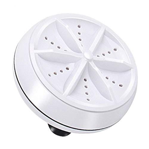 DBSUFV Mini Lavadora ultrasónica portátil Turbo Lavadora giratoria Personal Conveniente Viaje a casa Viajes de Negocios USB