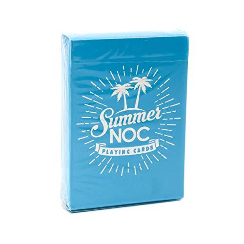 NOC Sommardäck (Limited Edition) – spelkort från The Blue Crown färg blå