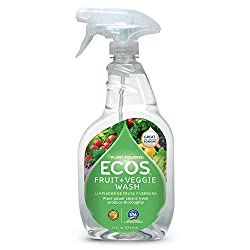 Earth-friendly product fruit and vegetable wash