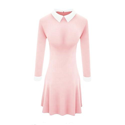 Peter Pan Collar Dress: Amazon.com
