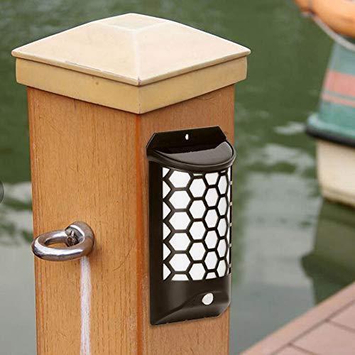 GKJRKGVF Wandlamp op zonne-energie, waterdicht, voor inductie van tuinvilla