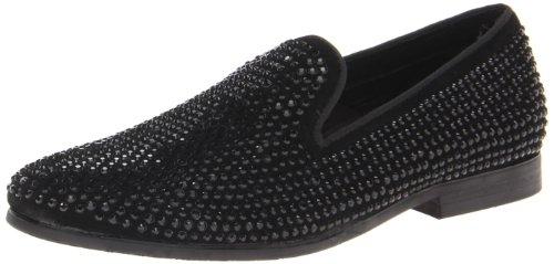 Steve Madden Men's Caviarr Slip-On Loafer,Black,9.5 M US