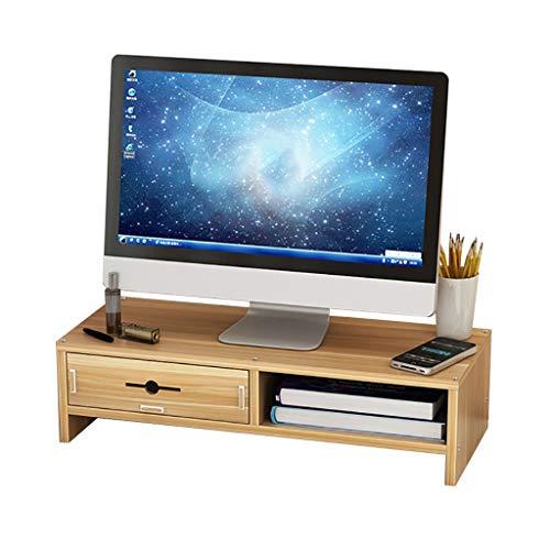 Monitor Stand Riser, Met Opslag Organizer Laden En Toetsenbord Opslagruimte Voor Thuis/Kantoorgebruik C1