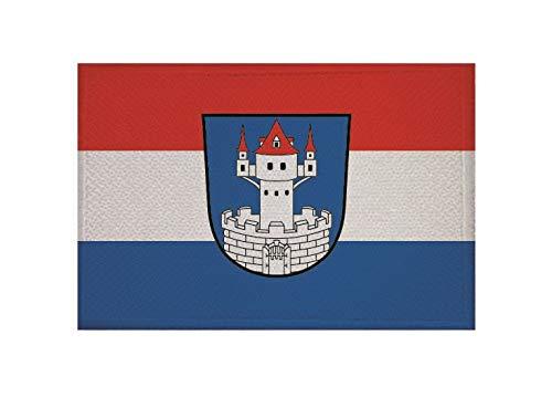 U24 Aufnäher Neunburg vorm Wald Fahne Flagge Aufbügler Patch 9 x 6 cm