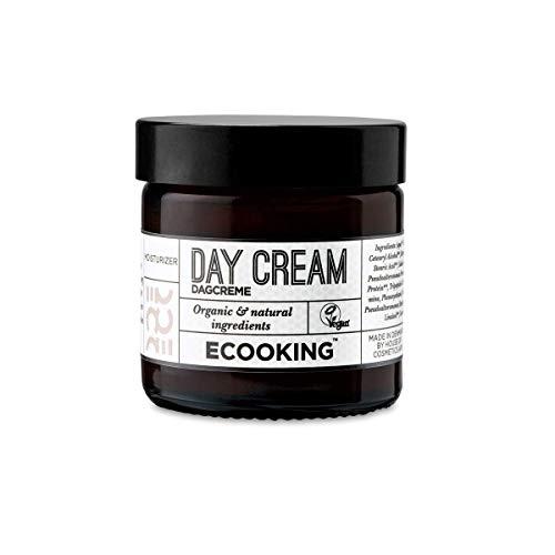ECOOKING Tagescreme, Vegane Gesichtscreme, Spendet langanhaltende Feuchtigkeit und Pflege, Enthält Hyaluronsäure, 50 ml