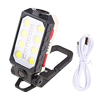 BANGNA Inspection Rechargeable portative de Lampe de réparation Automatique de Lampe de Travail à LED de réparation Pliante de