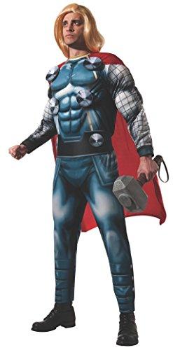 Rubie 's Offizielles Erwachsenen Marvel Thor Deluxe Kostüm –Standard