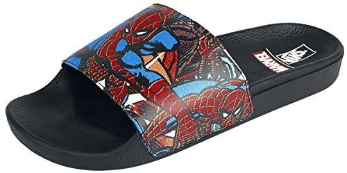 Vans Marvel X Pantofole Slippers Mn Slide-ON (Marvel) Spiderman Black (US 7)
