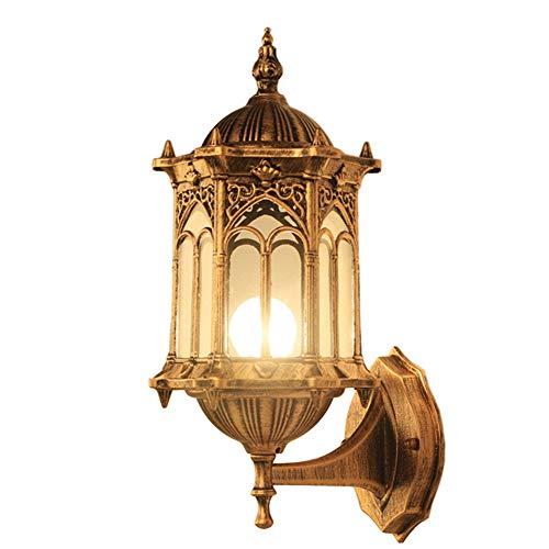 WO NICE wandlamp waterdichte buitenlamp Amerikaanse retro stijl niet gemakkelijk te roesten corrosiebescherming geschikt voor tuinverlichting vloerlamp