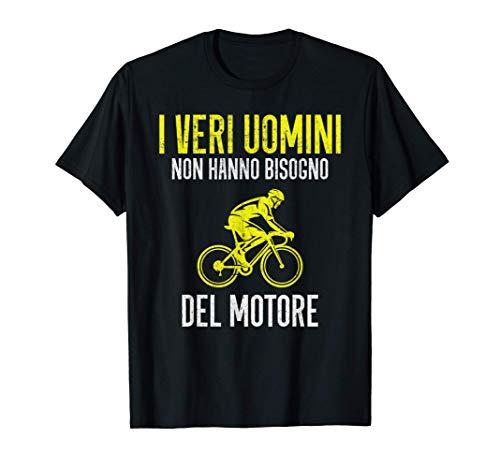 Uomo Ciclismo Divertente Ciclista Bicicletta Regalo Vintage Maglietta