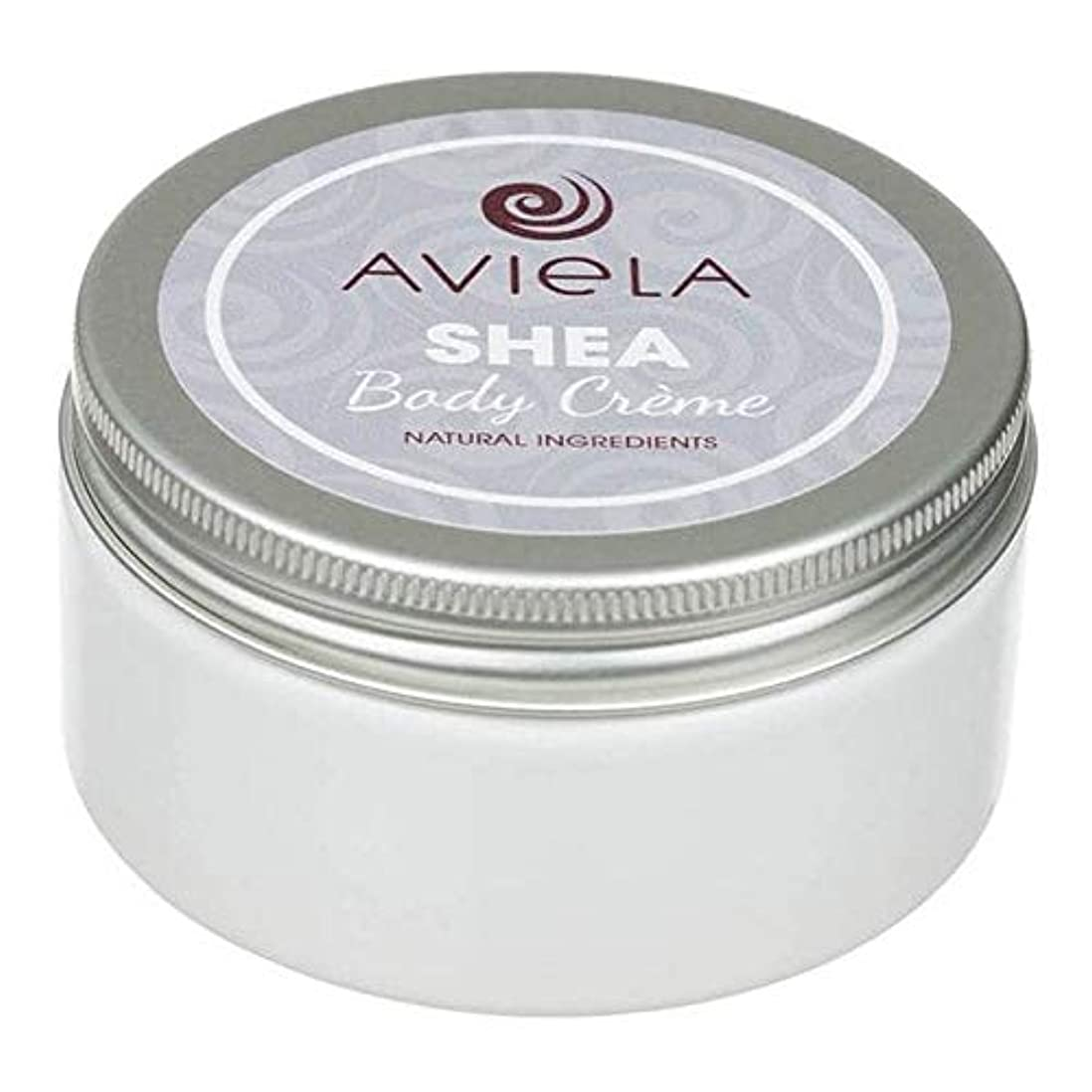 背が高い民間フリッパー[Aviela] Avielaシアボディクリーム200グラム - Aviela Shea Body Creme 200g [並行輸入品]