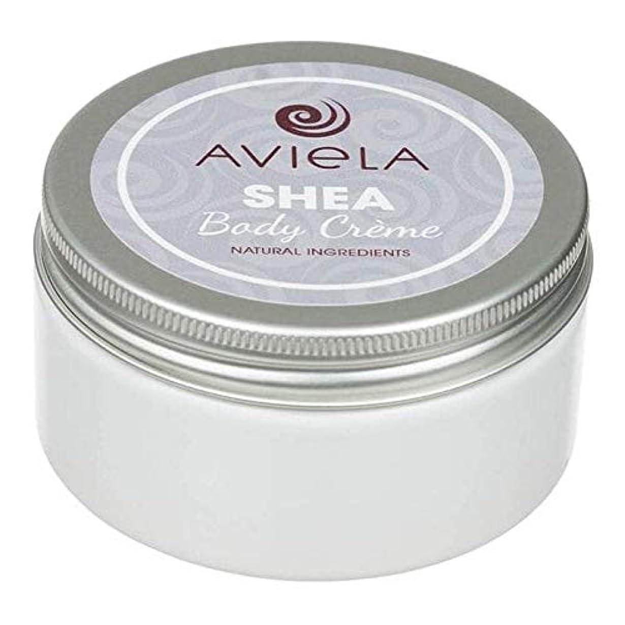 上げるオーバーヘッドコンプライアンス[Aviela] Avielaシアボディクリーム200グラム - Aviela Shea Body Creme 200g [並行輸入品]