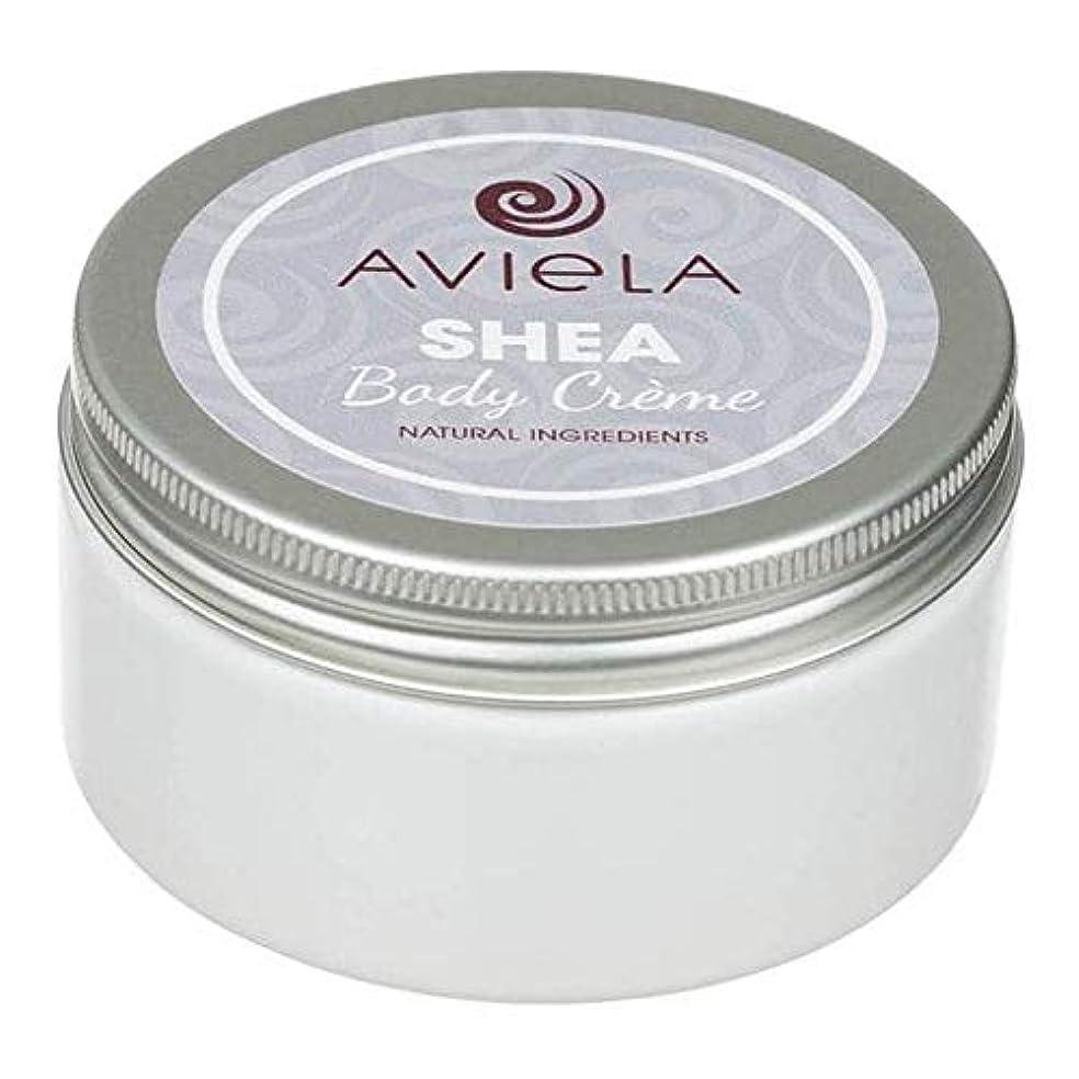 補う氷エスカレート[Aviela] Avielaシアボディクリーム200グラム - Aviela Shea Body Creme 200g [並行輸入品]