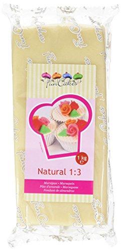 FunCakes Marzapane Naturale - pacco da 1 Kg