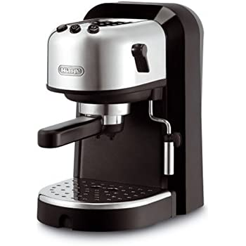 Delonghi EC270 Cafetera De Bomba Tradicional, 1100 W, 1.3 Litros, Acero Inoxidable, Negro/Gris: Amazon.es: Hogar