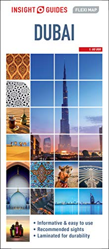 Insight Guides Flexi Map Dubai (Insight Maps)