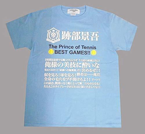跡部景吾 Tシャツ ライトブルー Mサイズ 「テニスの王子様 BEST GAMES!! 手塚VS跡部」 劇場グッズ