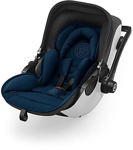 Kiddy Evoluna i-Size 2 nacelle avec fonction couchage (groupe 0+) jusqu'à env. 15 mois (max. 13 kg avec base Isofix de la collection 2019 Indigo Blue